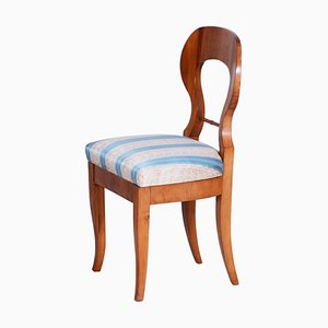 Early 19th Century Cherry-Tree Austrian Side Chair, 1820s