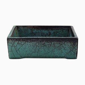 Box in Glazed Stoneware by Svend Hammershøi for Kähler, 1930s
