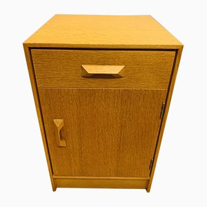 Oak Concord Range Bedside Table from Stag, 1950s