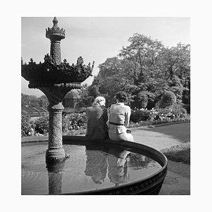 Women at Fountain Wilhelma Gardens, Stuttgart Germany, 1935