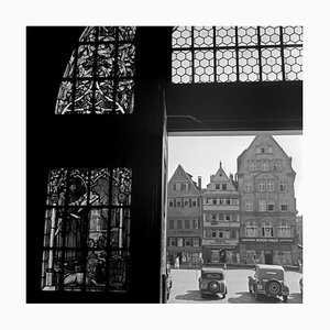 View to Shopping Passage, Stuttgart Germany, 1935
