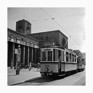 Tram Line No. 5 Zuffenhausen Main Station, Stuttgart Germany, 1935
