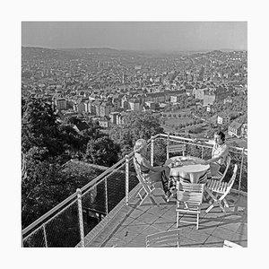 Frauen auf der Terrasse von Wielandshöhe, Stuttgart Deutschland, 1935
