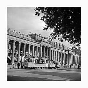 Tram Line No.2 Front of Koenigsbau Palace, Stuttgart Germany, 1935