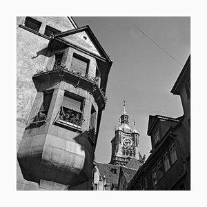 Blick auf das alte Rathaus, Stuttgart, 1935