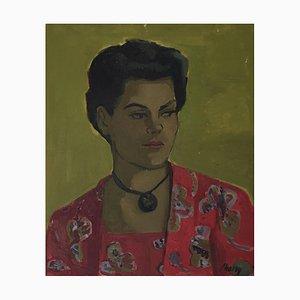 Frank Chabry, Jeune femme au Médaillon, 1963