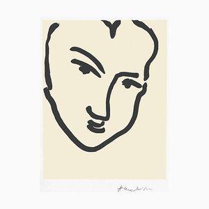 Nadia au Visage Penché by Henri Matisse