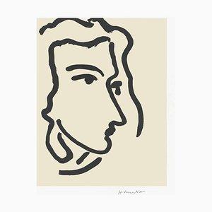 Nadia Regardant à Droite by Henri Matisse