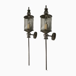 Torchère Sconces from Lunel France, 1950s, Set of 2