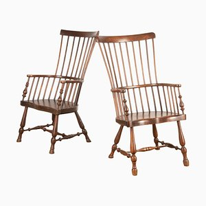 Scottish Darvel Chairs, Set of 2