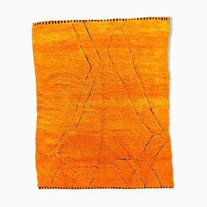 Berber M'rirt Teppich in Orange