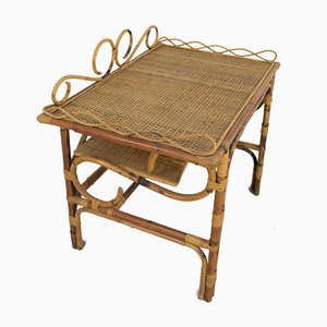 Bamboo Coffee Table, Italy, 1970s