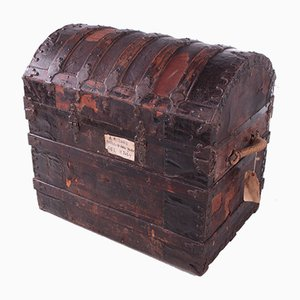 Antique Trunk from Henry Pollack Company, Texas, 1890s