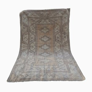 Handmade Wool Oushak Rug