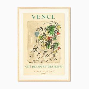 Vence Poster von Marc Chagall, 1950er