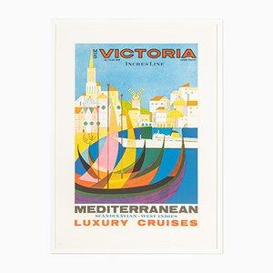 MS Victoria Poster, 1960er