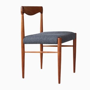 Small Mid-Century Danish Reupholstered Armchair in Teak by H. W. Klein for Bramin, 1960s