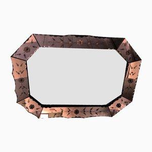 Pink Venetian Mirror