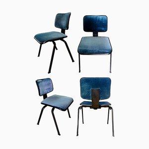 Edys Stühle von Ettore Sottsass & Hans von Klier für Olivetti Synthesis, 4er Set