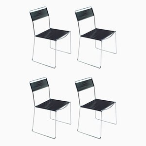 Spaghetti Chairs by Giandomenico Belotti for Alias, 1980s, Set of 4