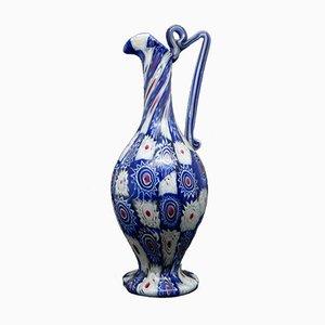 Millefiori Venetian Glass Vase, 1960s