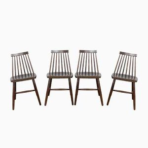 Chairs by Ilmari Tapiovaara, Set of 4