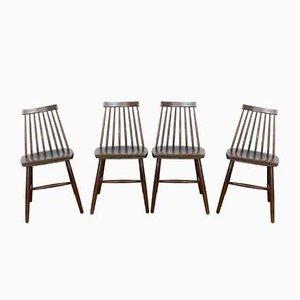 Stühle von Ilmari Tapiovaara, 4er Set