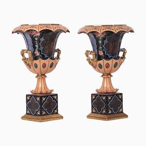 Porcelain Vessels, Set of 2