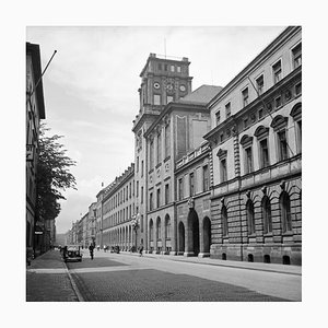 View to the Technical University at Munich, Germany, 1937