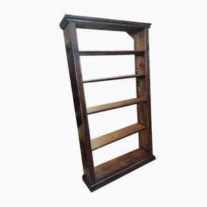 Late 19th Century Bookcase in Fir Wood