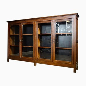 Antique Low Display Cabinet from Bruges, 1920s