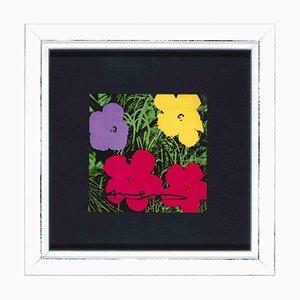 Andy Warhol, Flowers Invitation, Screen Print, 1970