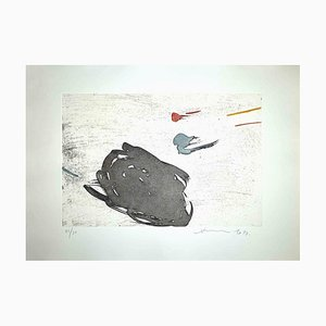 Unknown, Abstract Composition, Etching, Hsiao Chin, 1977