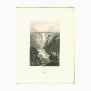 Various Artists, Ancient View of Terni, Lithograph, Mid 19th Century