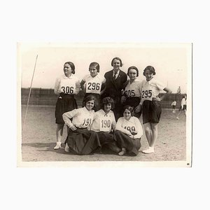 Unknown, Girls in the Sport Team, Photograph, 1930s