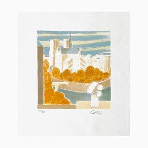 Weiße Rosen für Paris von Bernard Cathelin, 1990
