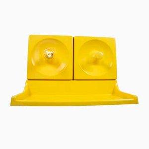 Gelbes Quadro Kleiderschrank Set von Schönbuch, 3er Set