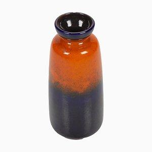 Orange und Blaue Vase