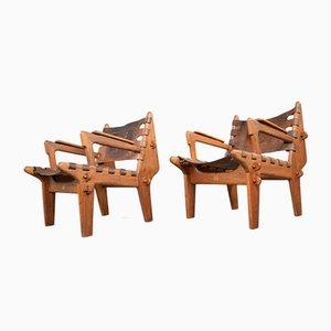 Cotacachi Lounge Chairs by Angel Pazmino for Meubles De Estilo, 1960s, Set of 2