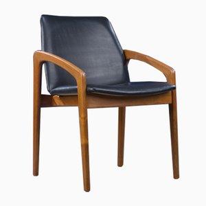 Mid-Century Model 23 Dining Chair by Henning Kjærnulf for Korup Stolefabrik, 1960s