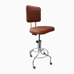 Vintage Drafting Stool from United, 1960s, Usa
