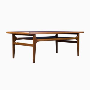 Teak Coffee Table by Niels Bach for A/S Möbler, 1960s
