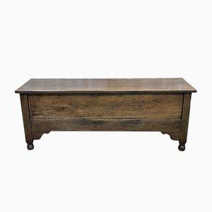 Oak Chest Bench