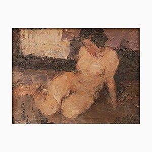 Nude Woman Modern Gemälde von Cosmo d'Angeli