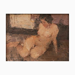 Nude Woman Modern Painting by Cosmo d'Angeli