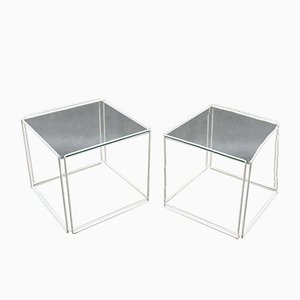 Side Tables by Max Sauze, 1980s, Set of 2