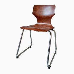 Skandinavische Stühle von Pagholz Flötotto, 4er Set