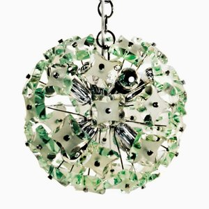 Glass Pendant Lamp from Fontana Arte, Italy, 1970s