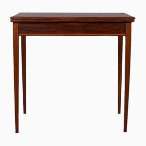 Tavolo da gioco antico pieghevole