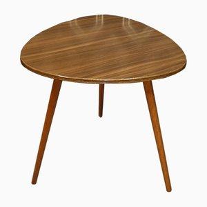 Formica & Teak Dreibein Tisch, 1960er